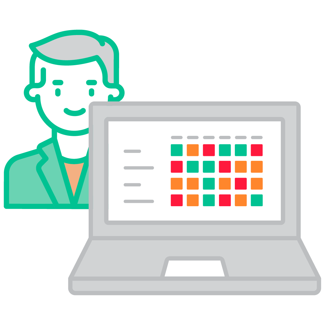 Win Loss analysis for each member of your sales team